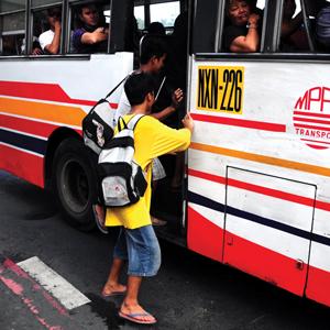 Riding the Bus in Metro Manila