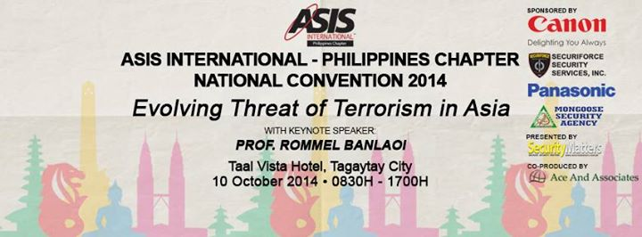 ASIS International Philippines Chapter National Convention 2014 in Tagaytay City
