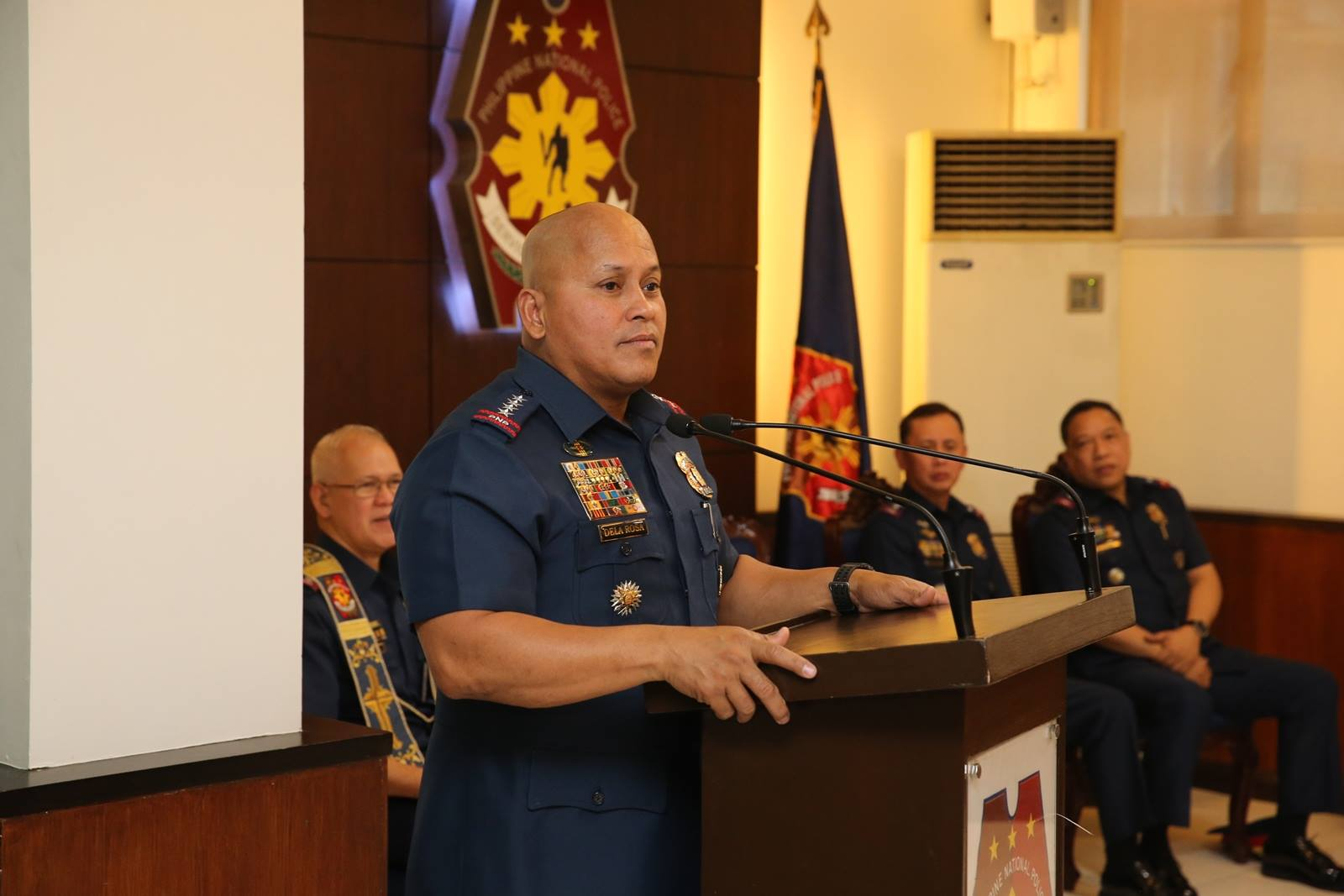 The PNP stops all drug operations