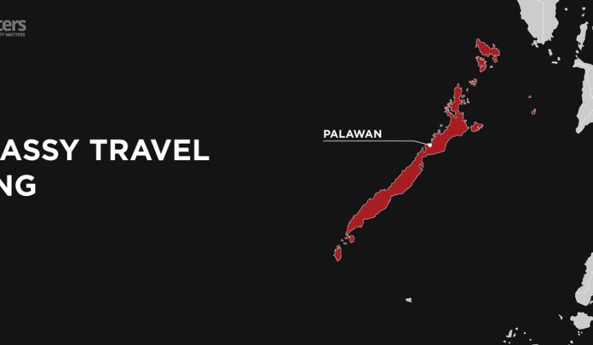 US Embassy raises travel warning over Palawan