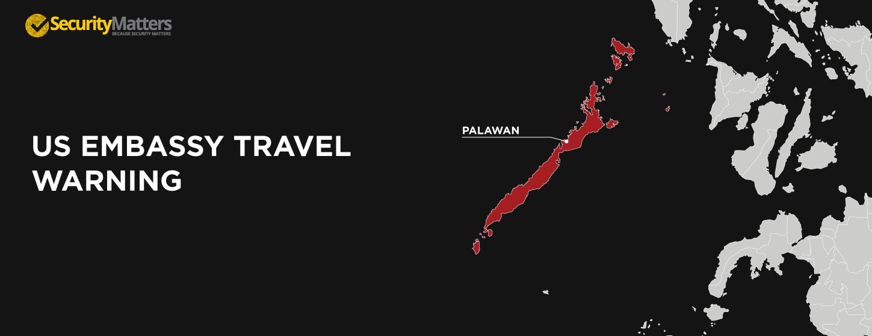 US Embassy Raises Travel Warning Over Palawan SecurityMatters - Us travel warnings map 2017